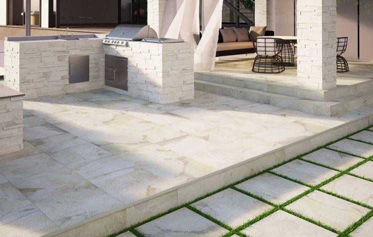 Pavimenti per esterni pavimenti per esterni come for Suelos para jardin exterior