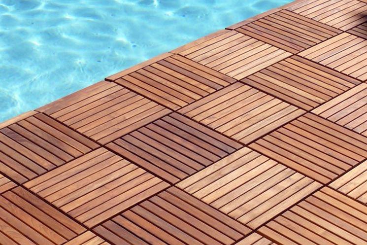 Pavimento in legno composito