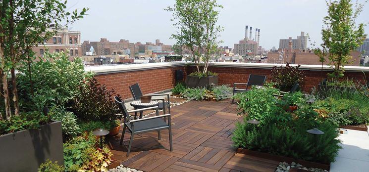 Pavimenti per terrazze esterne - Pavimenti per esterni - Vari tipi ...