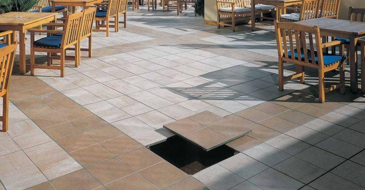 Pavimenti per terrazze esterne pavimenti per esterni for Arredi esterni per terrazze