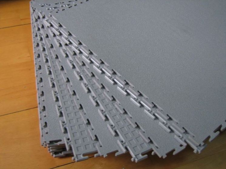 Pavimenti sovrapponibili pavimenti per esterni caratteristiche pavimento sovrapponibile - Piastrelle di plastica ...