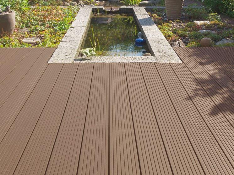 Pavimento pvc pavimenti per esterni vantaggi del pavimento in pvc - Pavimento esterno finto legno ...