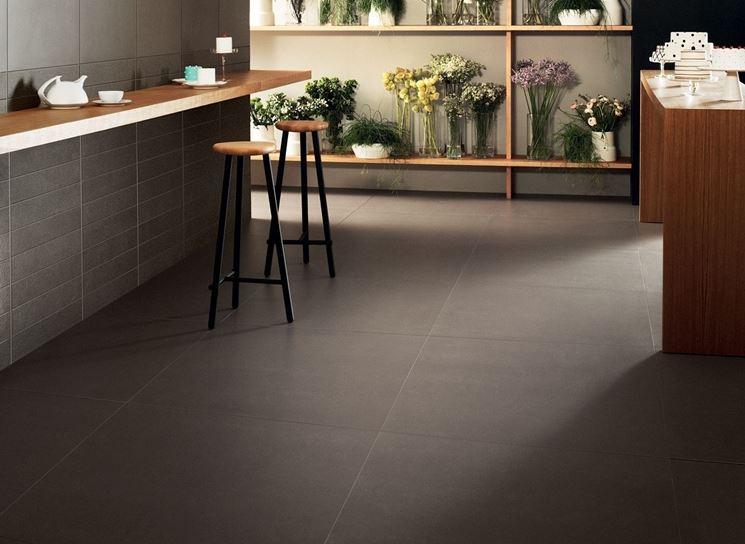 Esempio di pavimento in ceramica