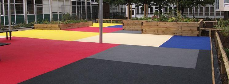 Pavimento esterno resina