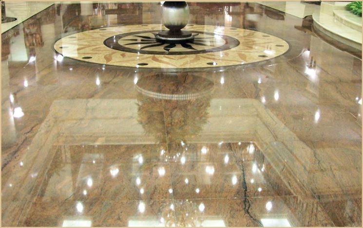 Il pavimento in marmo