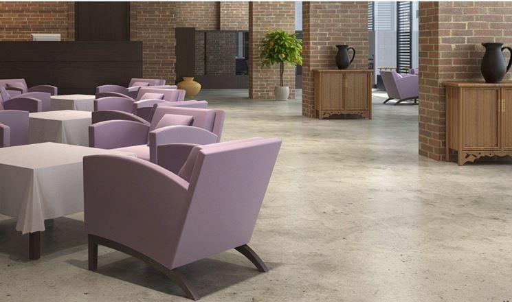 Grande pavimento in cemento per interni xx51 pineglen - Pavimenti interni casa ...