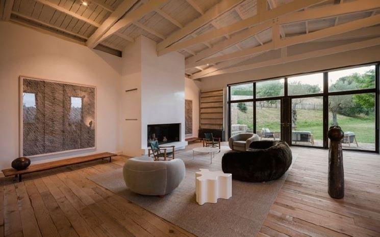 Pavimenti in legno per interni - Pavimento per la casa - Pavimento interno in...