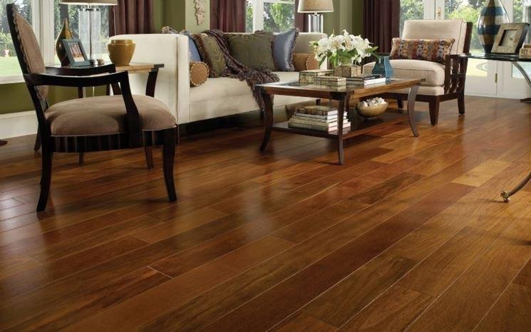 Pavimento in legno classico