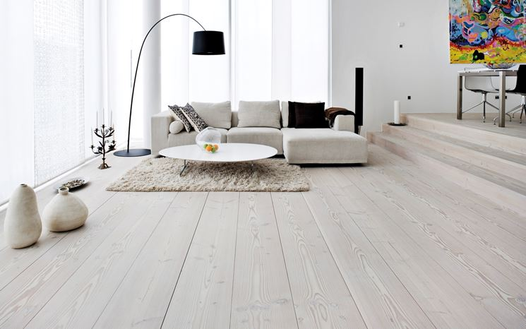 Pavimenti in legno massello