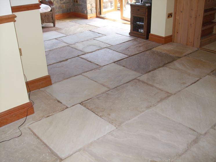 Pavimento In Pietra Naturale Per Interni : Piastrella da interno da pavimento in pietra naturale