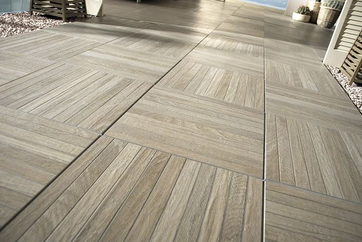 Awesome Finto Parquet Gres Porcellanato Prezzi Contemporary ...