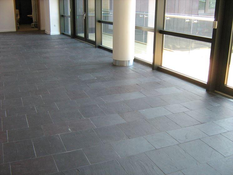 Pavimenti in ardesia piastrelle per casa caratteristiche