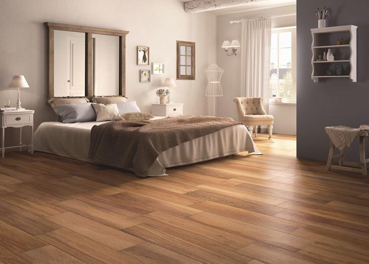 Pavimenti in ceramica legno