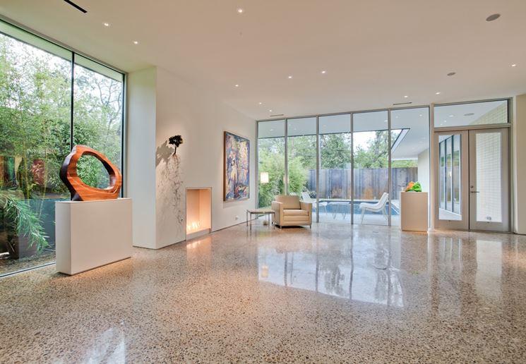 Pavimenti in graniglia piastrelle per casa caratteristiche