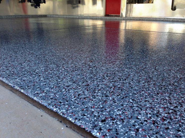 Elegante pavimento in granito