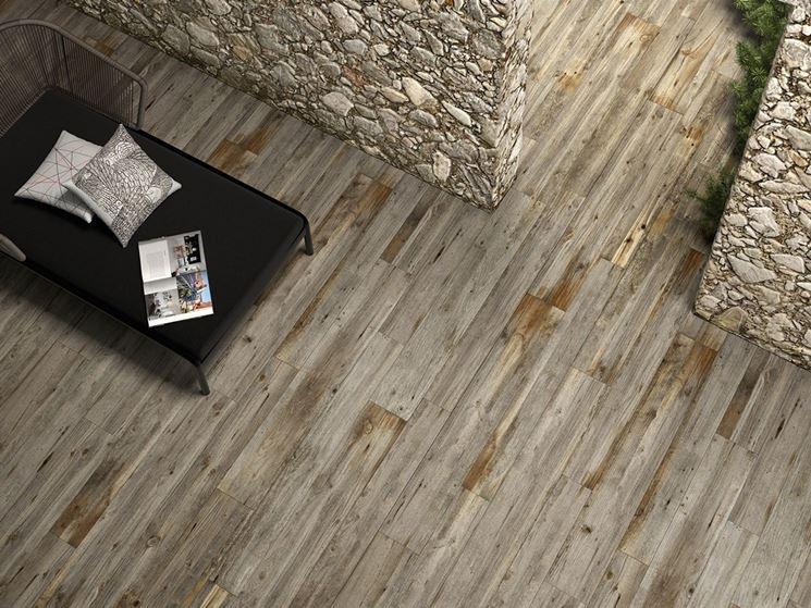 La bellezza del gres effetto legno