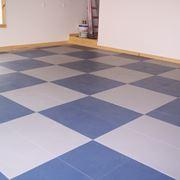 Un esempio di pavimento in pvc