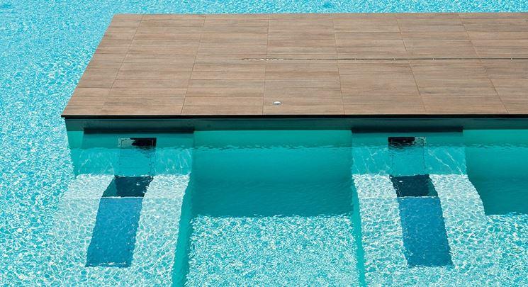 Pavimento per piscina piastrelle per casa for Piscine per pesci