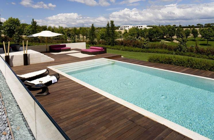 Pavimento per piscina - Piastrelle per casa - Pavimentazione piscina