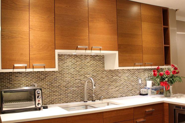 Posa mosaico in cucina