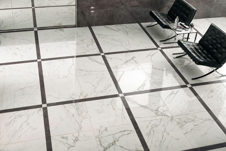 pavimento in gres porcellanato levigato