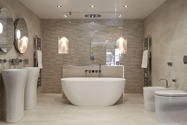 Piastrelle bagno   rivestimenti   scegliere le piastrelle per bagno