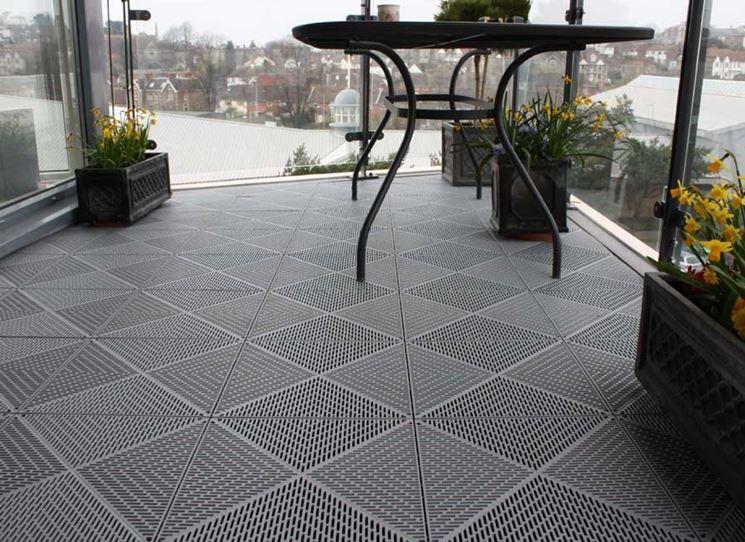 Piastrelle per balconi esterni nuova costruzione pavimento