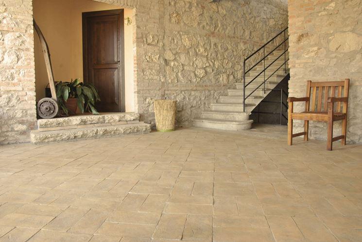 Le piastrelle da esterno idee per il design della casa for Piastrelle da esterno ikea