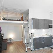 Soppalco con piccola camera da letto