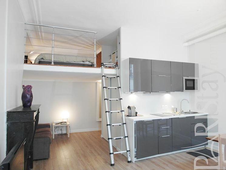 Il soppalco controsoffitto caratteristiche del soppalco - Camera da letto a soppalco ...