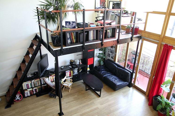 Il soppalco controsoffitto caratteristiche del soppalco for Aggiungendo spazio sopra il costo del garage