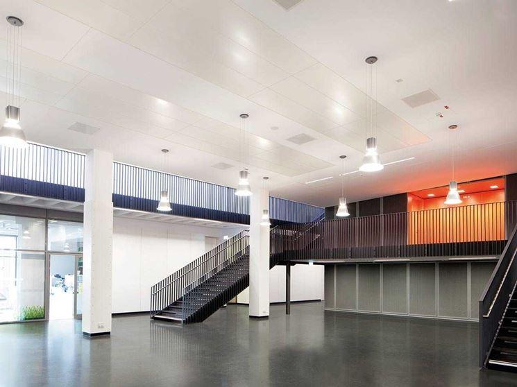 installazione pannelli radianti a soffitto