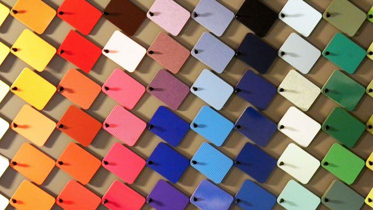 Vari colori da scegliere