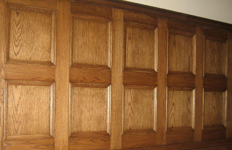 Pannelli decorativi legno