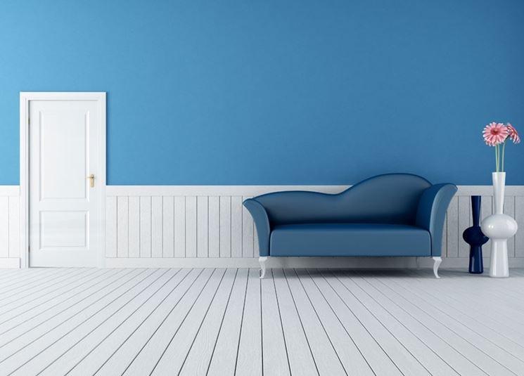 pareti blu
