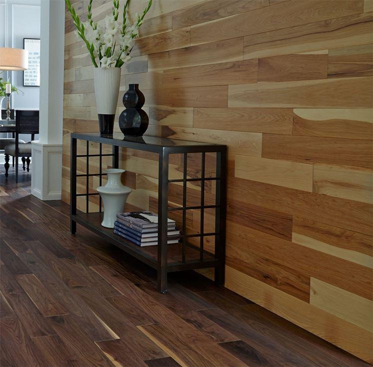 Esempio di rivestimenti in legno