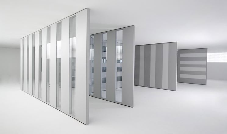 Pareti divisorie mobili costruire pareti - Mobili separatori ...