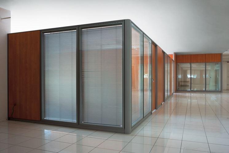Pareti divisorie costruire pareti tipologie di pareti for Divisori mobili per ufficio