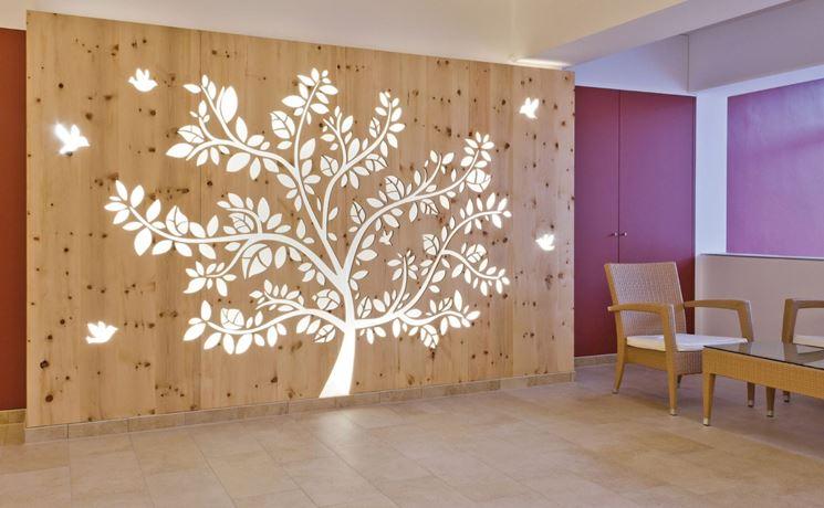 Pareti divisorie costruire pareti tipologie di pareti - Parete divisoria in legno per interni ...