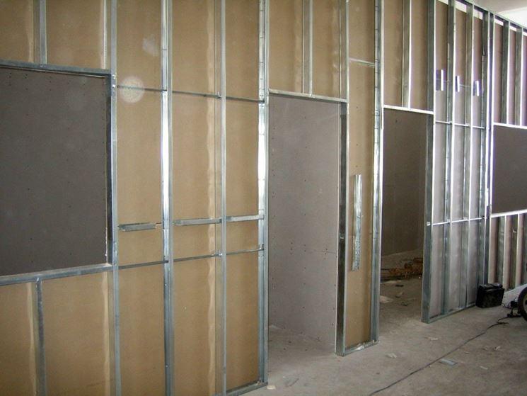 Pareti divisorie - Costruire pareti - Tipologie di pareti divisorie