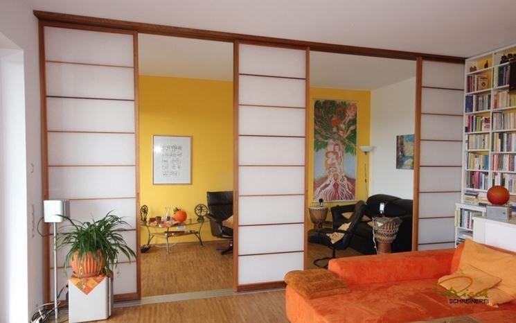 Pareti giapponesi costruire pareti pareti e muri for Pareti giapponesi scorrevoli