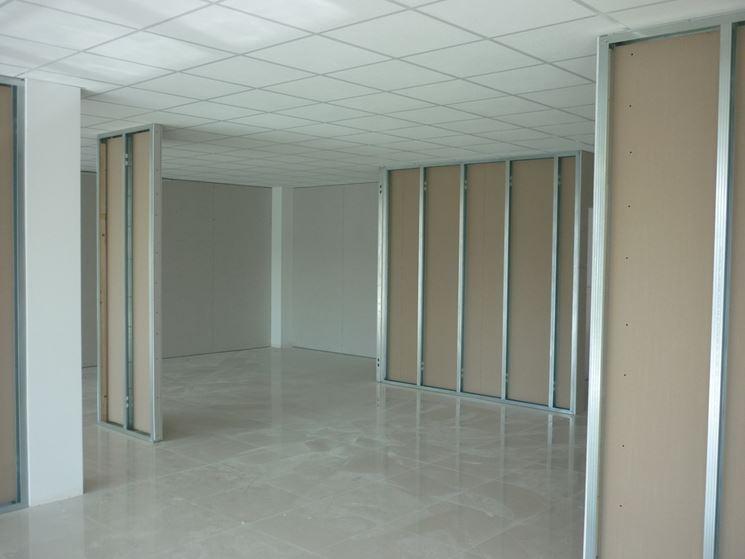 Pareti in cartongesso - Costruire pareti - Cartongesso per pareti