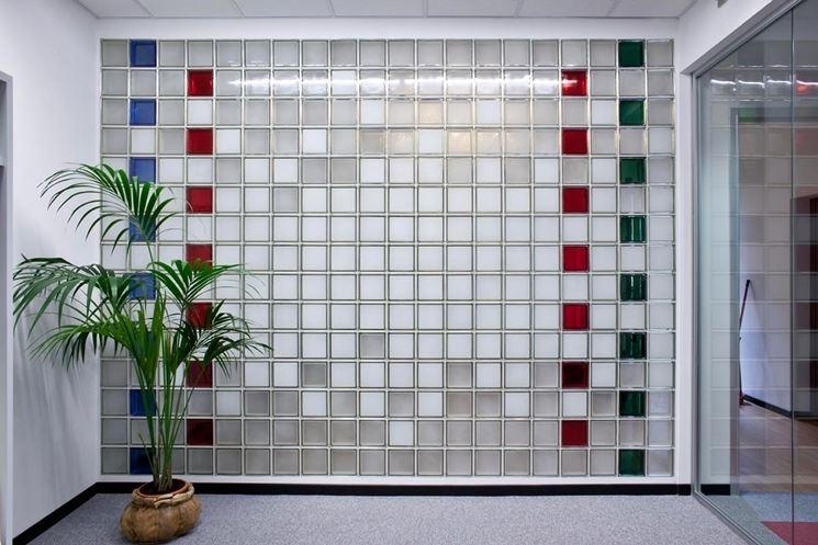 Pareti in vetrocemento - Costruire pareti - Realizzare pareti vetrocemento