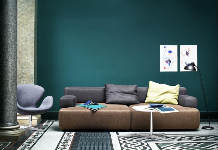 Best Colorare Le Pareti Del Soggiorno Pictures - Design Trends 2017 ...