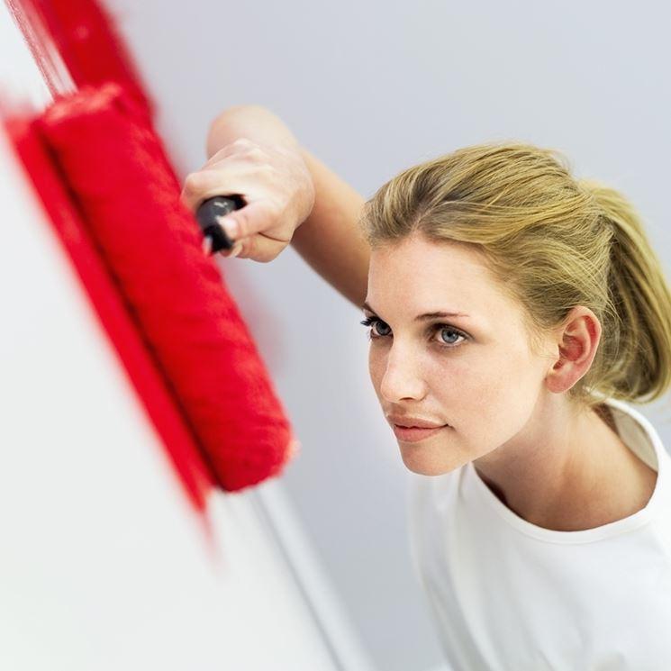 colorare pareti
