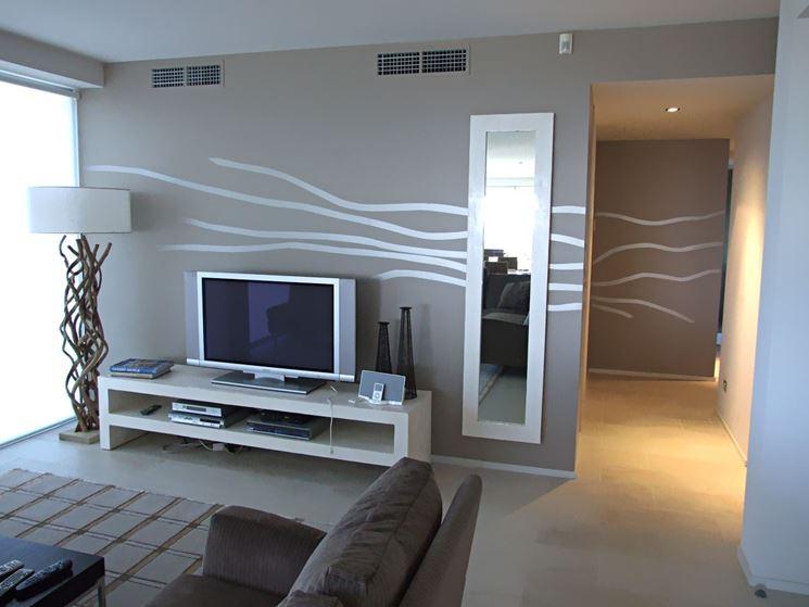 Pitture per interni moderne foto ba54 regardsdefemmes - Pitture decorative moderne ...
