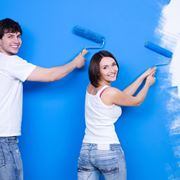 Un esempio di pittura da muro