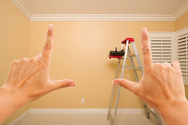 Preparare le pareti per pitturare