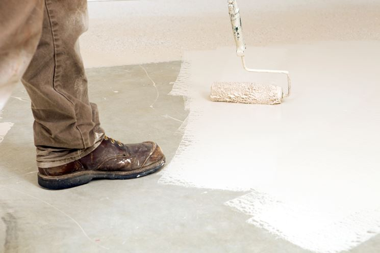 vernice per pavimento