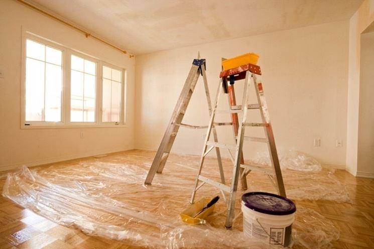 La verniciatura di casa